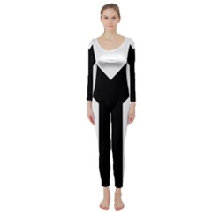 Forked Cross Long Sleeve Catsuit by abbeyz71