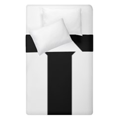 Forked Cross Duvet Cover Double Side (single Size) by abbeyz71