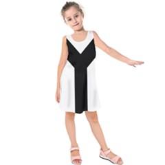 Forked Cross Kids  Sleeveless Dress by abbeyz71