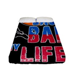 Basketball is my life Fitted Sheet (Full/ Double Size)