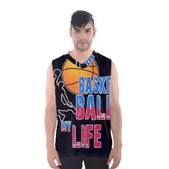 Basketball is my life Men s Basketball Tank Top