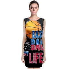 Basketball is my life Classic Sleeveless Midi Dress