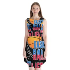 Basketball is my life Sleeveless Chiffon Dress