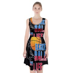 Basketball is my life Racerback Midi Dress
