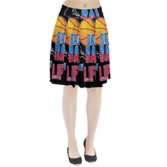 Basketball is my life Pleated Skirt