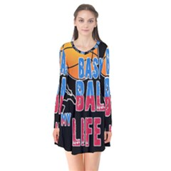 Basketball is my life Flare Dress