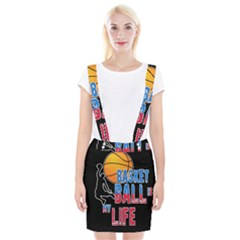 Basketball is my life Braces Suspender Skirt