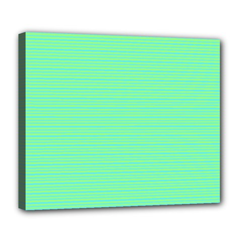 Decorative Lines Pattern Deluxe Canvas 24  X 20   by Valentinaart