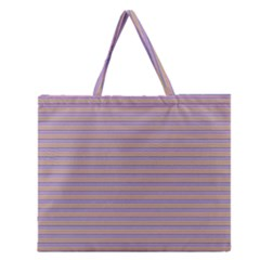 Decorative Lines Pattern Zipper Large Tote Bag by Valentinaart