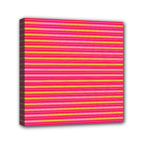 Decorative Lines Pattern Mini Canvas 6  X 6  by Valentinaart