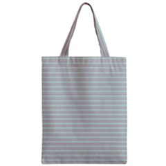 Decorative Lines Pattern Zipper Classic Tote Bag