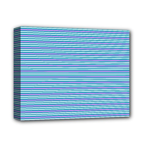 Decorative Lines Pattern Deluxe Canvas 14  X 11  by Valentinaart