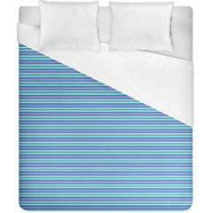 Decorative Lines Pattern Duvet Cover (california King Size) by Valentinaart