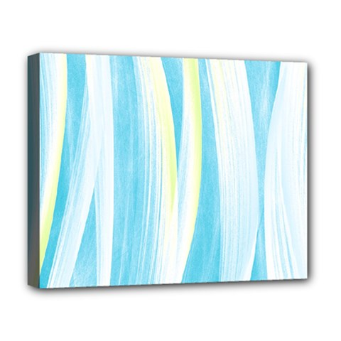 Artistic Pattern Deluxe Canvas 20  X 16   by Valentinaart