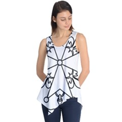 Huguenot Cross Sleeveless Tunic
