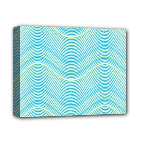 Pattern Deluxe Canvas 14  X 11  by Valentinaart