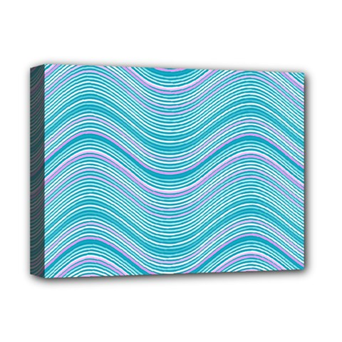Pattern Deluxe Canvas 16  X 12   by Valentinaart
