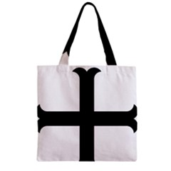 Cross Molin Zipper Grocery Tote Bag by abbeyz71