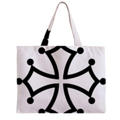 Occitan Cross\ Zipper Mini Tote Bag