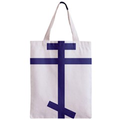 Orthodox Cross  Zipper Classic Tote Bag by abbeyz71