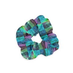 Abstract Square Wall Velvet Scrunchie