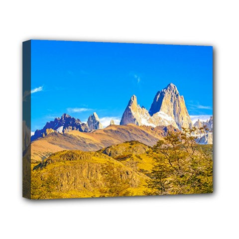 Snowy Andes Mountains, El Chalten, Argentina Canvas 10  X 8  by dflcprints