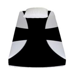 Cross Patty  Fitted Sheet (single Size) by abbeyz71