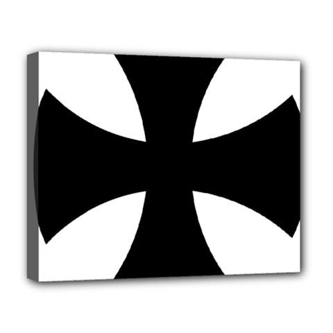 Cross Patty Deluxe Canvas 20  X 16   by abbeyz71