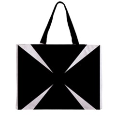 Cross Patty  Medium Tote Bag by abbeyz71