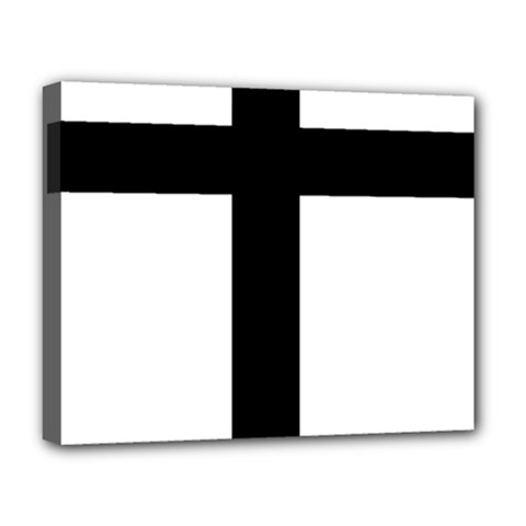 Patriarchal Cross Deluxe Canvas 20  X 16   by abbeyz71