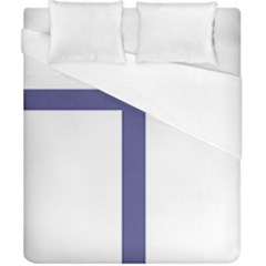 Patriarchal Cross Duvet Cover (california King Size) by abbeyz71