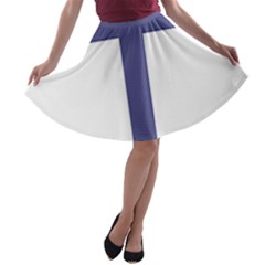 Patriarchal Cross A Line Skater Skirt by abbeyz71