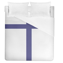 Patriarchal Cross  Duvet Cover (queen Size) by abbeyz71