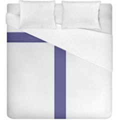 Patriarchal Cross  Duvet Cover (king Size)