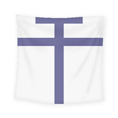 Patriarchal Cross  Square Tapestry (small) by abbeyz71