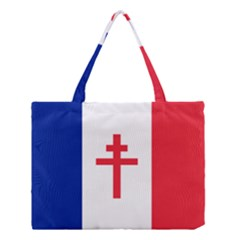 Flag Of Free France (1940 1944) Medium Tote Bag by abbeyz71