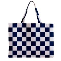Pattern Zipper Mini Tote Bag