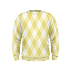 Plaid Pattern Kids  Sweatshirt