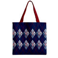 Diamonds And Lasers Argyle  Grocery Tote Bag by emilyzragz