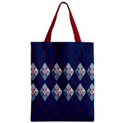 Diamonds And Lasers Argyle  Zipper Classic Tote Bag by emilyzragz