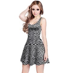 Geometry Reversible Sleeveless Dress by PattyVilleDesigns