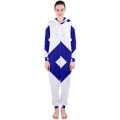 Saint Andrew s Cross Hooded Jumpsuit (ladies)  by abbeyz71