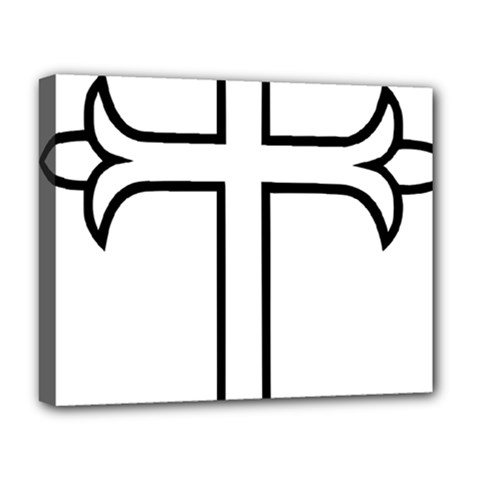 Western Syriac Cross Deluxe Canvas 20  X 16   by abbeyz71
