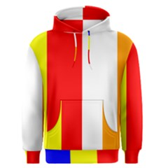 International Flag Of Buddhism Men s Pullover Hoodie by abbeyz71