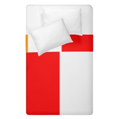 International Flag Of Buddhism Duvet Cover Double Side (single Size) by abbeyz71