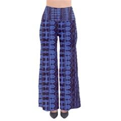 Wrinkly Batik Pattern   Blue Black Pants by EDDArt