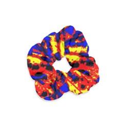 Fire Tree Pop Art Velvet Scrunchie