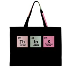 Think   Chemistry Zipper Mini Tote Bag by Valentinaart