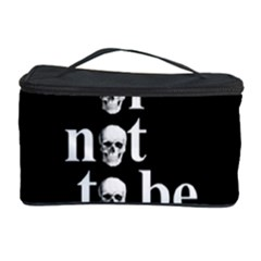 To Be Or Not To Be Cosmetic Storage Case by Valentinaart