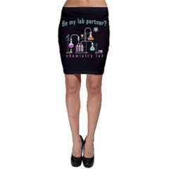 Chemistry Lab Bodycon Skirt by Valentinaart